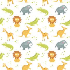 Children's seamless pattern