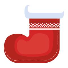 christmas boot decorative icon