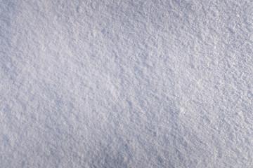 Snow texture. White powder snow.