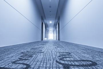 corridor in hotel and carpet