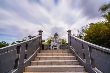 Temple 1000 Statue in Tanjung Pinang City