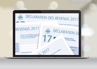 Impôts sur le revenu 2017 - Déclaration en ligne