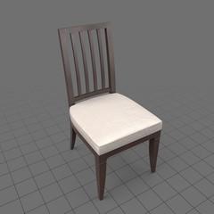 Hardback dining room chair 1