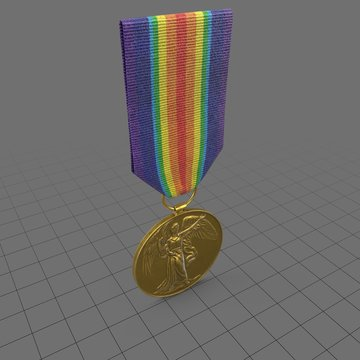 Military medal 3