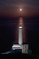 La luna sorge alla Palascia