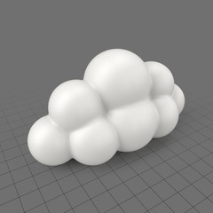 Bubble cloud 5