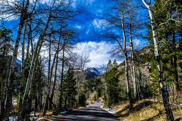 Winter in Rocky Mountain National Park, Colorado
