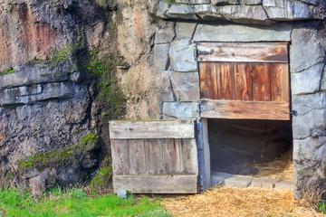 animals zoo house