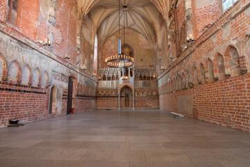 Średniowieczne wnętrze