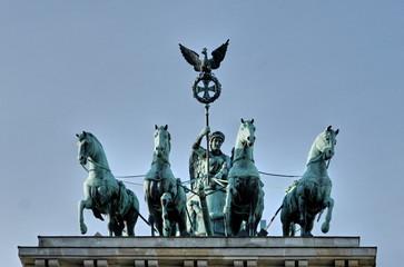Brandenburg gate - horse statue