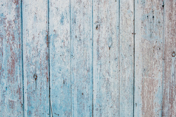 Wooden texture with irradiated old paint