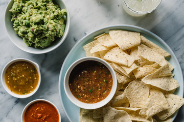 Margarita, Chips, Salsa and Guacamole party!