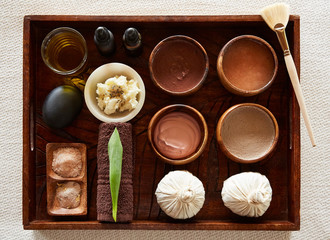 Natural and organic spa ingredients