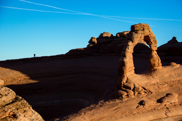 Photographer at Delicate Arch, Arches National Park