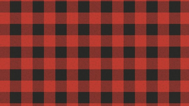 High resolution flannel pattern, red and black squares abstract background