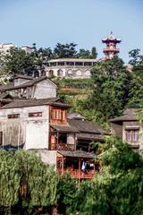 Chinese Hunan Province phoenix area people's life