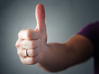 Thumb Up Hand Approval Symbol