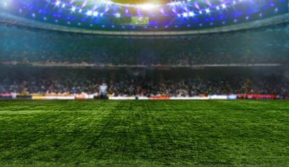 Wall Mural - Stadium night