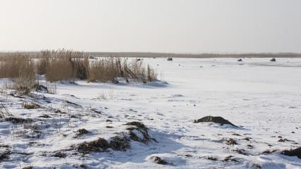 Winter images from Malmö Skåne Sweden