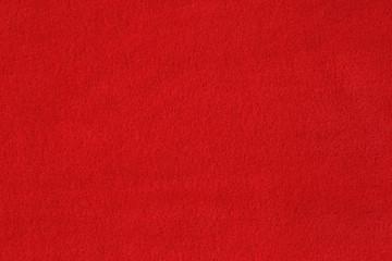Red woolen baize texture background