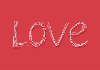 Love message symbol
