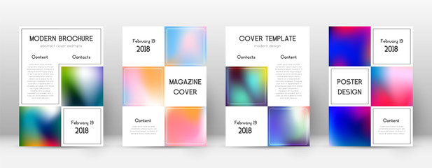 Flyer layout. Business gorgeous template for Brochure, Annual Report, Magazine, Poster, Corporate Presentation, Portfolio, Flyer. Adorable colorful cover page.