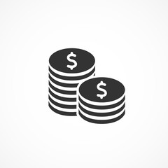 Vector image of money icon.
