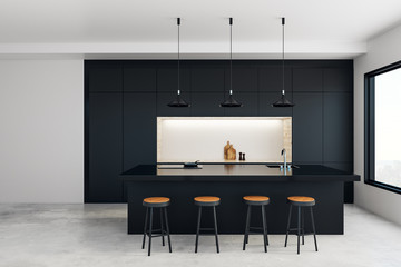 Modern studio kitchen