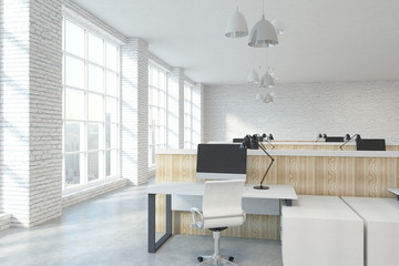 Wall Mural - Contemporary coworking office