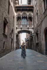 gotic quarter in barcelona