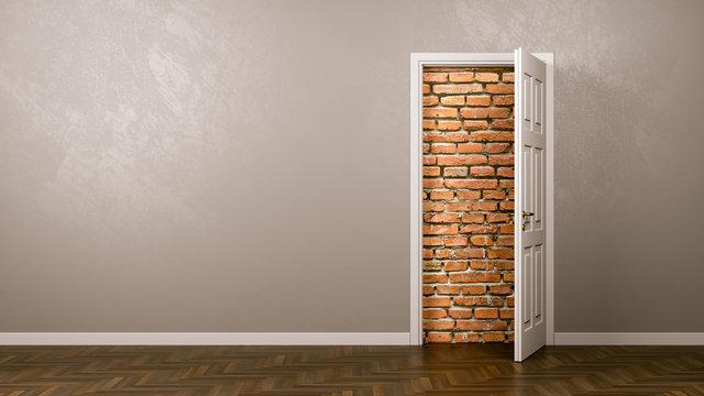 Wall Behind the Door