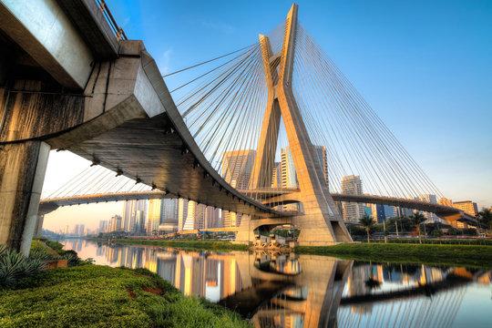 Estaiada Bridge - Sao Paulo - Brazil