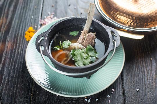 hot mutton soup