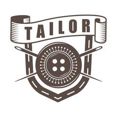 monochrome tailor logo