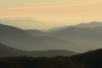The Blue Ridge at Dusk