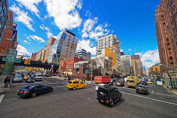 10th Avenue and West 23rd Street NYC US