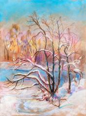 winter landscape, February