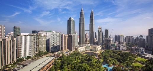 Fotobehang Kuala Lumpur City scape of Kuala lumpur city