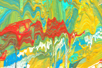 Abstract art background. Hand painted.