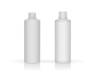 plastic bottle  mock up  template