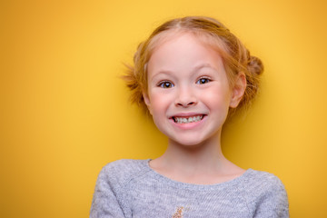 smiling kid girl