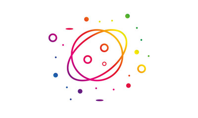 Weltall Logo Vektor