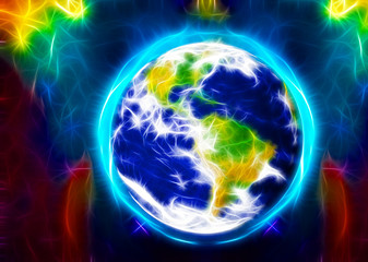 earth, planet, ecology, atmosphere, ozone layer
