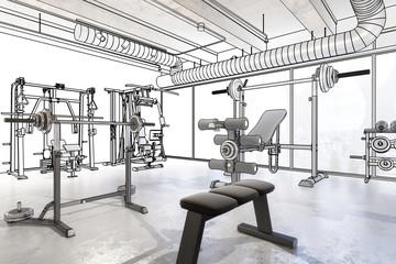 Weights Training Equipment (plan)