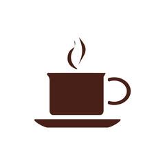 coffee cup. Vector illustration flat design