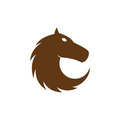 Horse logo vector design