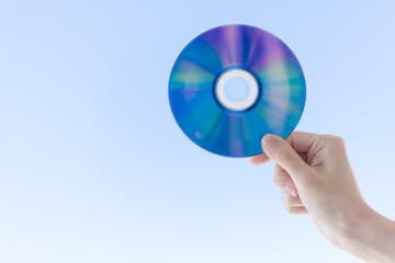 CDを持つ