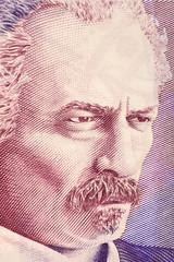 Ignacy Jan Paderewski portrait from Polish money