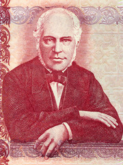 Jon Sigurdsson portrait from Icelandic money
