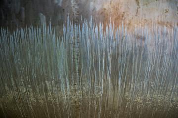 Textura repetición de elementos del paisaje de forma abstracta